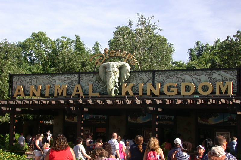 Walt Disney World 2003. Disney's Animal Kingdom Park.