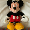 Pal MIckey, the first edition, resting in our room at the Swan resort.