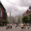 The Streets of America, New York section, at Disney's Hollywood Studios.
