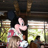 Character Breakfast in Ohana with Mickey and friends at Disney's Polynesian Resort.