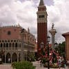 Italy pavilion at Epcot.