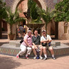 Lesie, Dirk, & Jim at the Morocco Pavilion in Epcot.