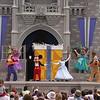 Cinderella Castle show.