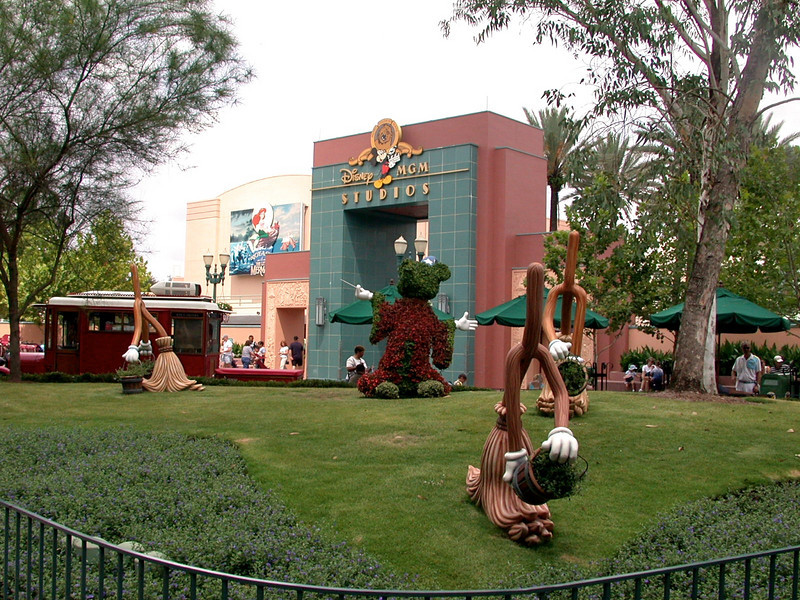 Entrance to the Animation Courtyard at Disney's Hollywood Studios.