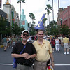 At the entrance of Disney's Hollywood Studios in Walt Disney World.