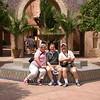 Lesie, Dirk, & Jim at the Morocco Pavilion in Epcot.