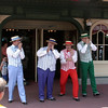 The Dapper Dans on Main Street.