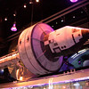 Mock-up of a space station featured in Mission: Space