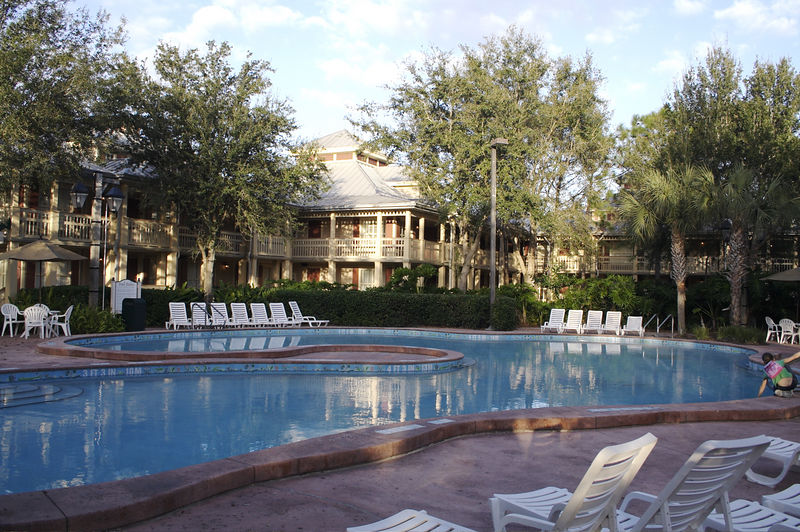 Disney's Port Orleans Riverside - Quiet Pool