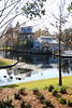 Disney's Port Orleans Riverside resort - looking toward the boat docks.