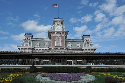 Train Station at Magic Kingdom