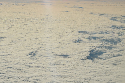 Clouds over the Atlantic