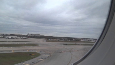 Takeoff from Orlando International Airport