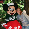 Me with Minnie Mouse