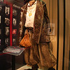 """Costumes from the film """"Enchanted"""" at the exit to the Studios Backlot tour"""