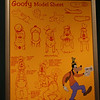 Goofy model sheet at The Magic of Disney Animation