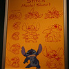 Stitch model sheet at The Magic of Disney Animation