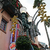 Christmas Decorations on Hollywood Blvd.