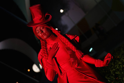 Red Statue