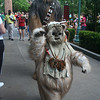 Chewie and an Ewok