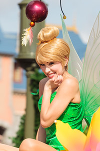 Tinker Bell in the Disney Festival of Fantasy Parade