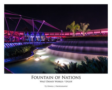 EPCOT's Fountain of Nations