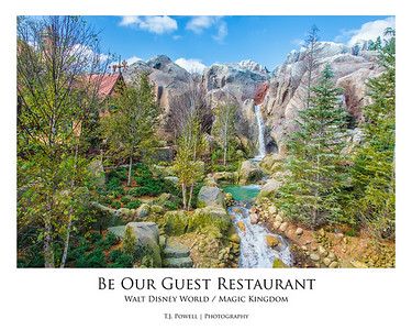 Be Our Guest Restaurant @ Magic Kingdom