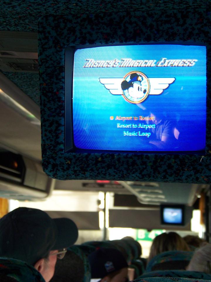 On the way to Walt Disney World