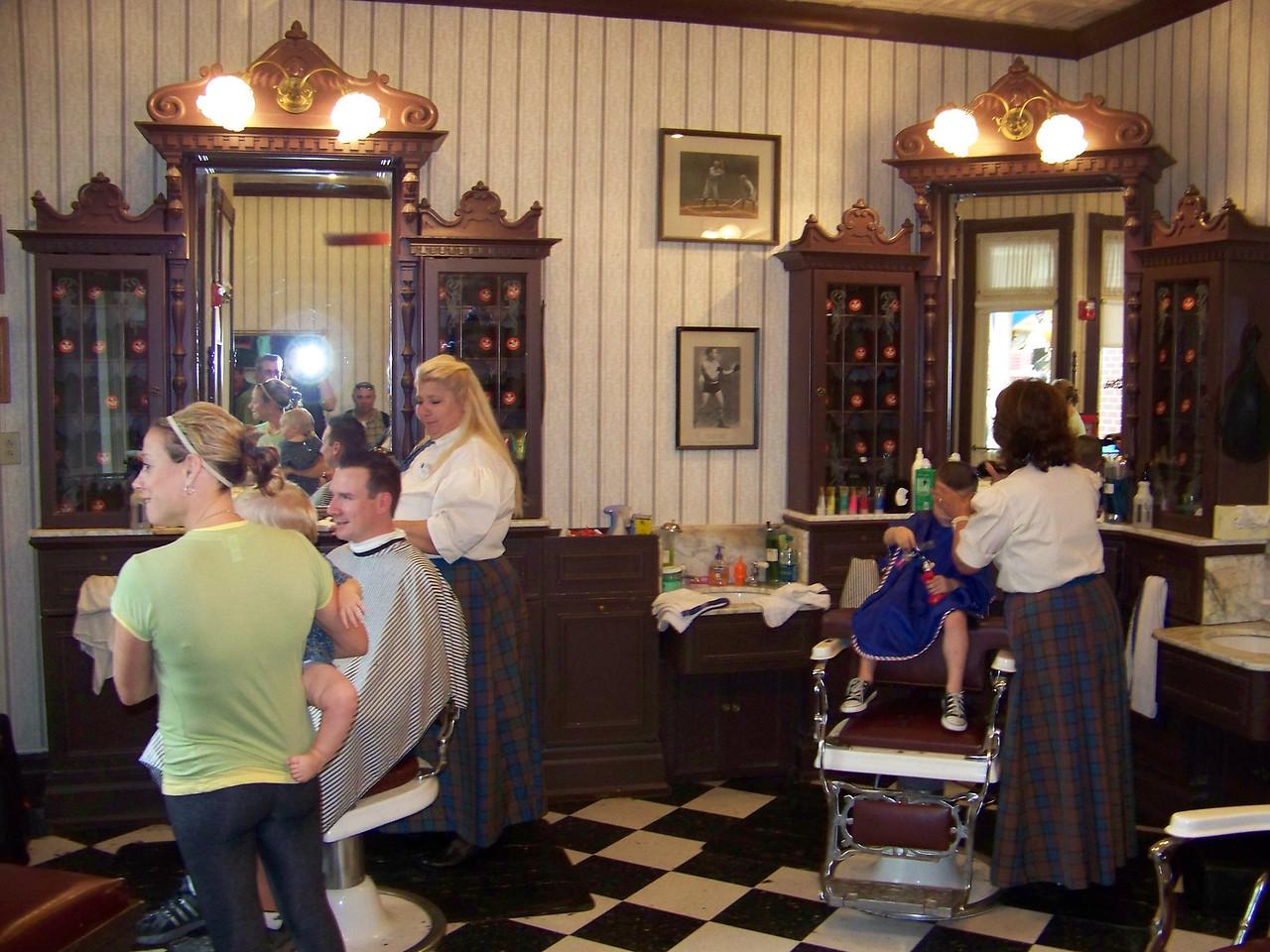 Magic Kingdom - Main Street Barber Shop
