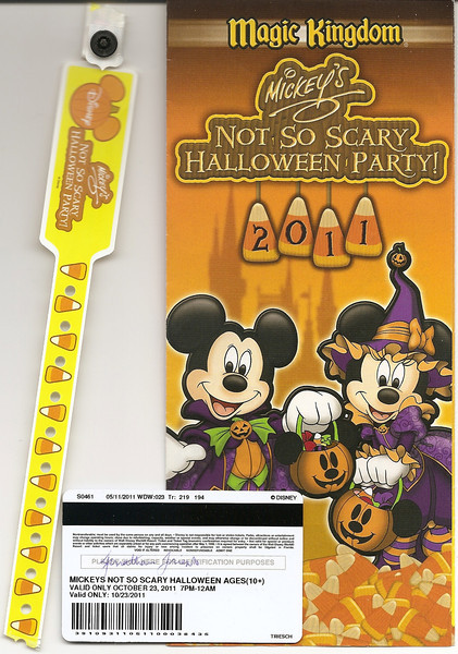 Walt Disney World - Mickey's Not-So-Scary Halloween Party