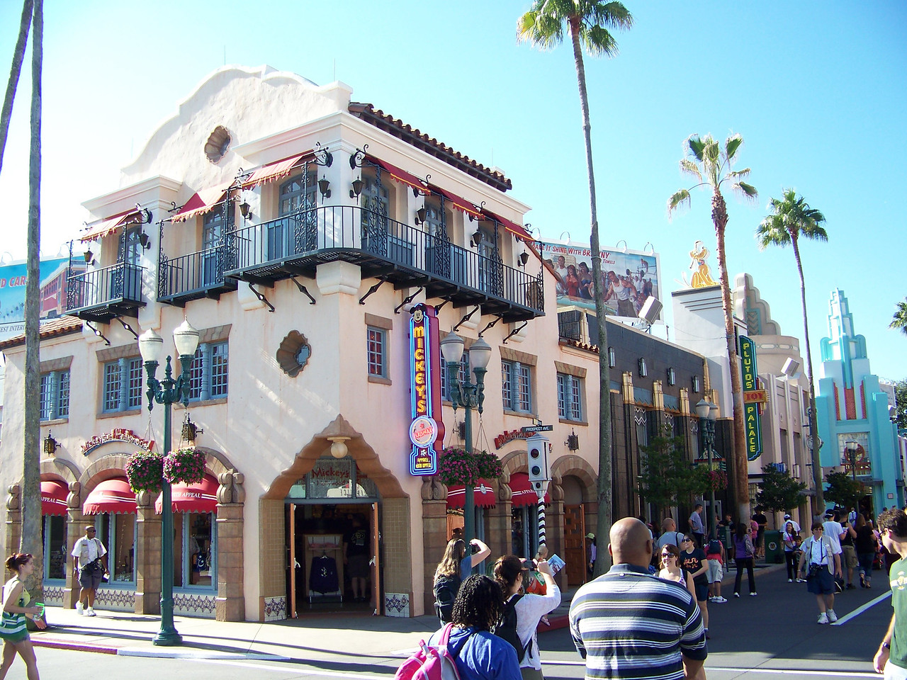 Hollywood Blvd. is the equivalent of Main Street in this park.<br /> [Disney's Hollywood Studios]