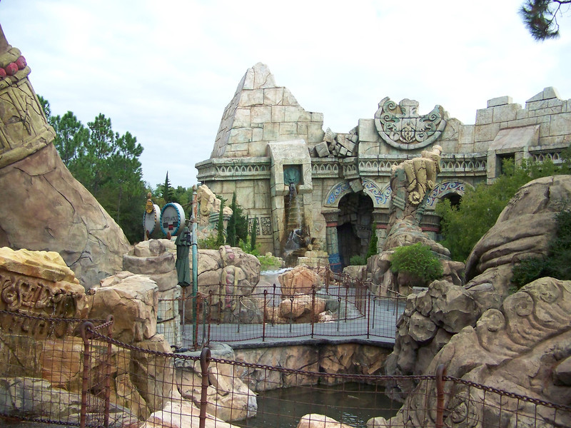 Much of the Lost Continent's real estate was given over to Harry Potter.  In fact, two of the roller coasters that were once part of this island were rethemed and are now part of Potterville (though they didn't actually move).<br /> [Universal Islands of Adventure]