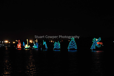 View from Disney's Contemporary Resort & Electrical Water Pageant