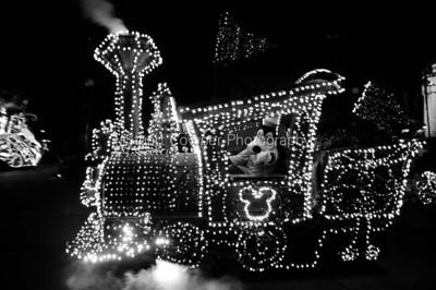 Walt Disney World 2011 in Black & White and Sepia