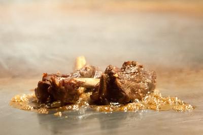 Wafu Ribs - sake,soy and ginger braised pork ribs
