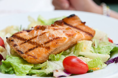 Salmon Salad of the day