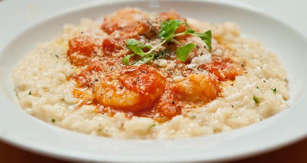 Risotto Di Gamberi Creamy arborio rice, shrimp, herbs, butter, parmesan cheese