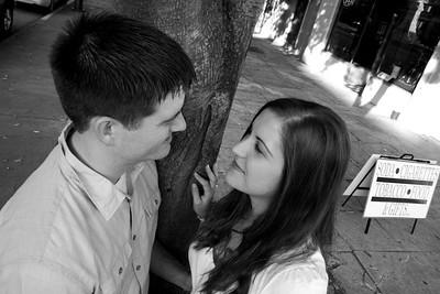 Katie and John