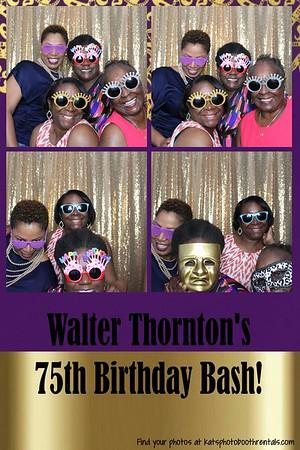 Walter's 75th