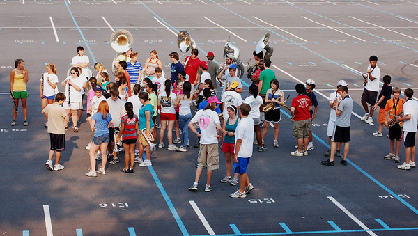 Marching Practices 2007