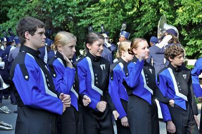 Walton Raider Marching Band, East Cobber Parade