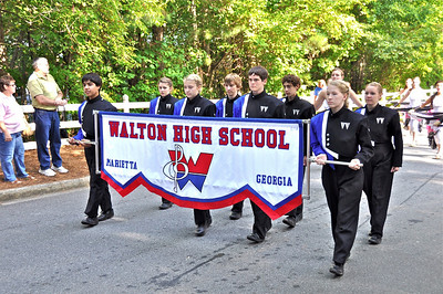 Walton Raider Marching Band, East Cobber Parade