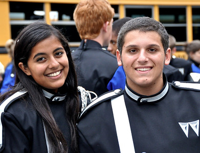 Band, Walton High School vs Campbell , Akansha & Gil