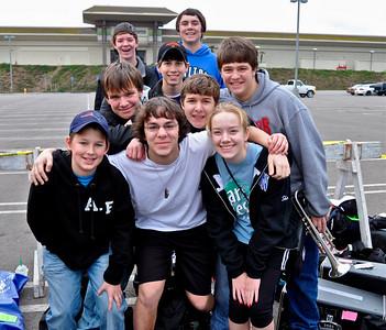 Walton Band 2009- 2010, Tournament of Roses Visit