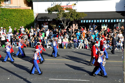 2009 - 2010 Walton Band, Tournament of Roses Parade Trip