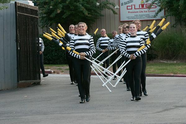 Dress Rehearsal and Rose Parade Ceremony