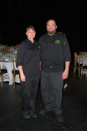 Sous Chef Shannon French and Chef Michael Wilson (1)