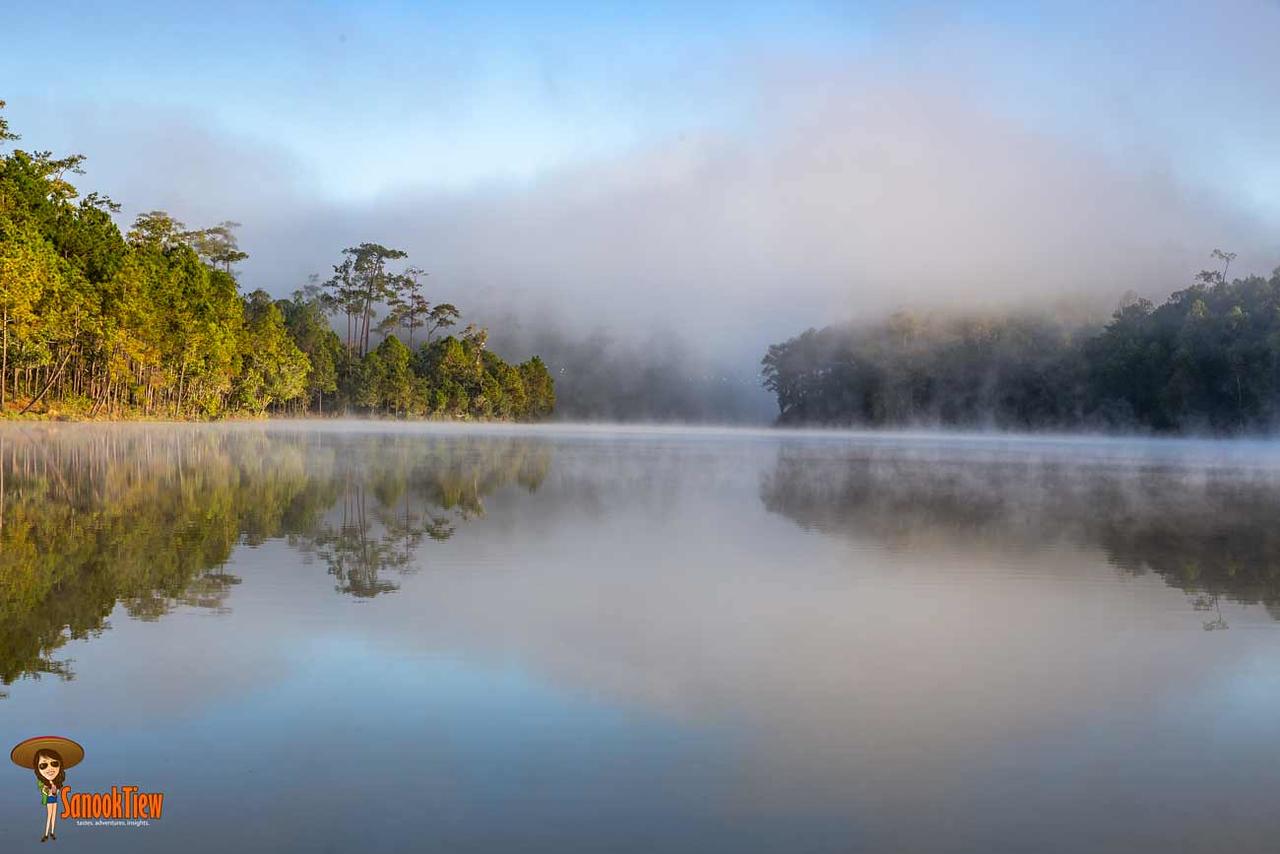 ป่าสนวัดจันทร์ อ่างเก็บน้ำห้วยจันทร์ โครงการหลวงบ้านวัดจันทร์ องค์การอุตสาหกรรมป่าไม้ อ.อ.ป. เชียงใหม่