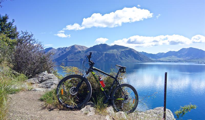 Don't roll backwards into Lake Wanaka Nov 2016!
