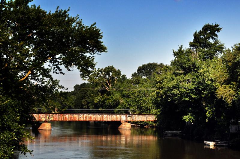 The Kankakee River Train Bridge